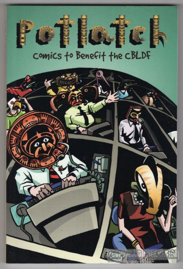 Potlatch 2002: Comics to Benefit the CBLDF