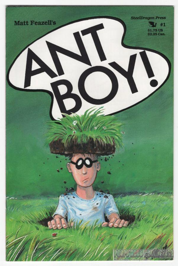 Ant Boy (SteelDragon) #1