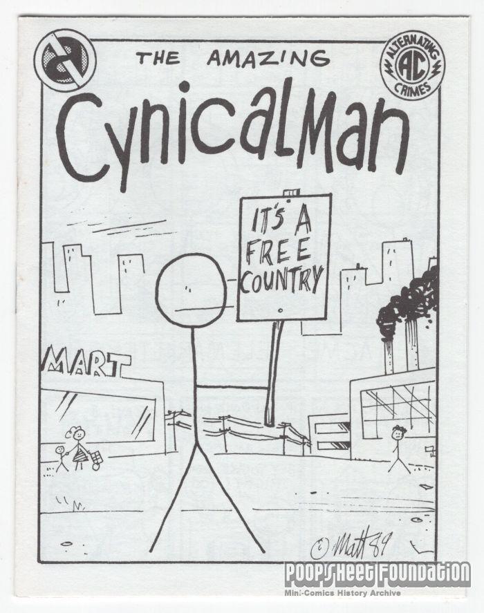 Amazing Cynicalman, The
