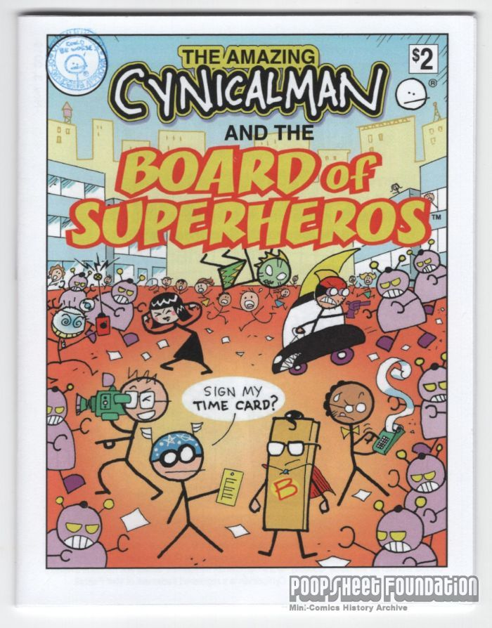 Cynicalman and the Board of Superheros
