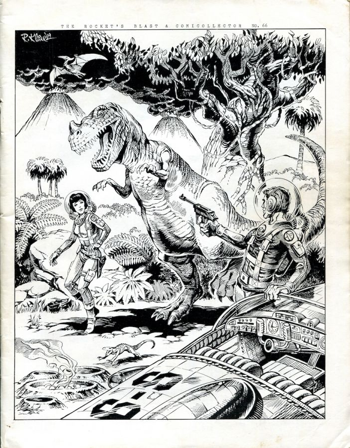 Rocket's Blast Comicollector / RBCC #066