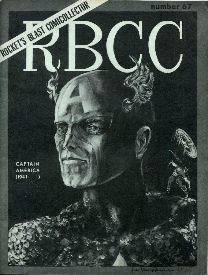 Rocket's Blast Comicollector / RBCC #067