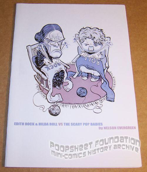 Edith Rock & Hilda Roll vs the Scary Pop Babies
