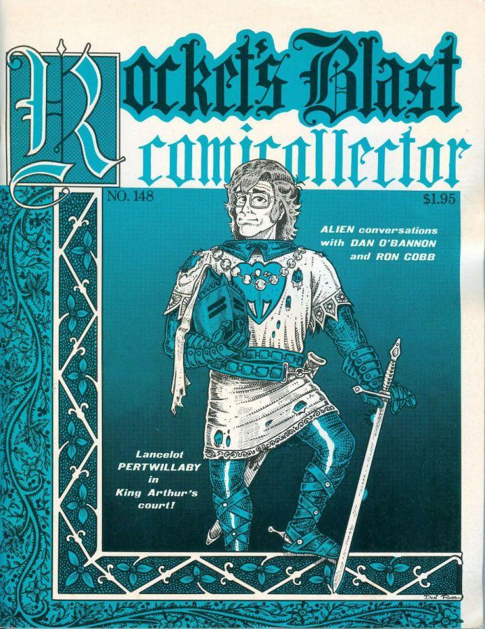 Rocket's Blast Comicollector / RBCC #148