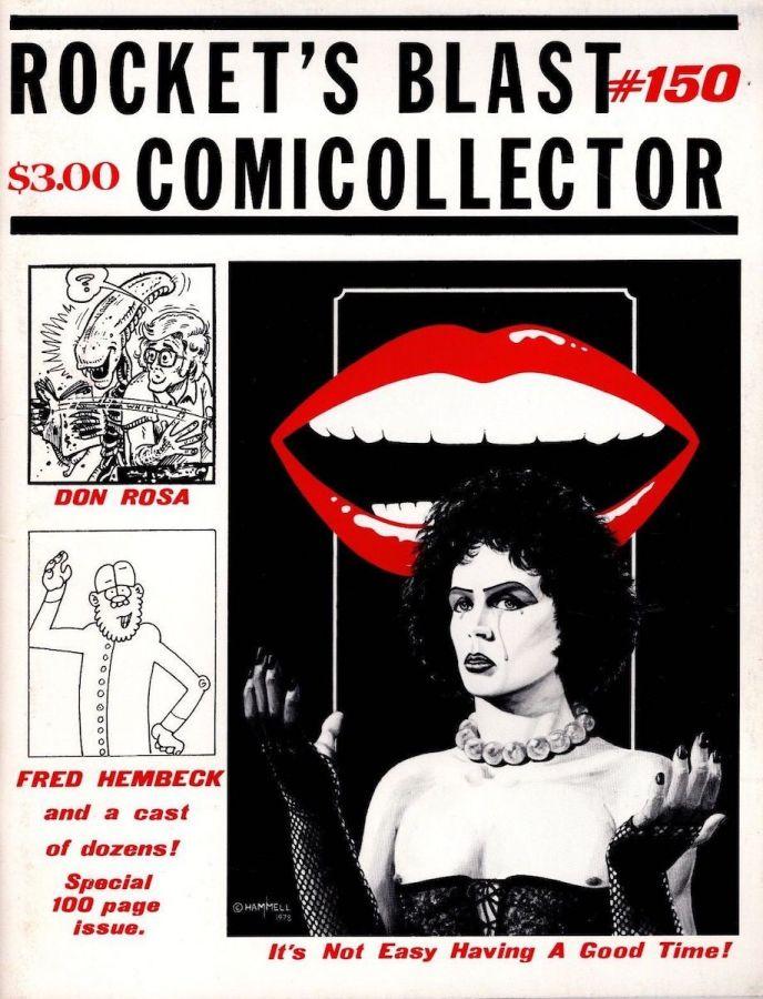 Rocket's Blast Comicollector / RBCC #150