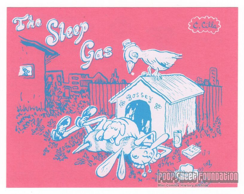 Sleep Gas, The - postcard