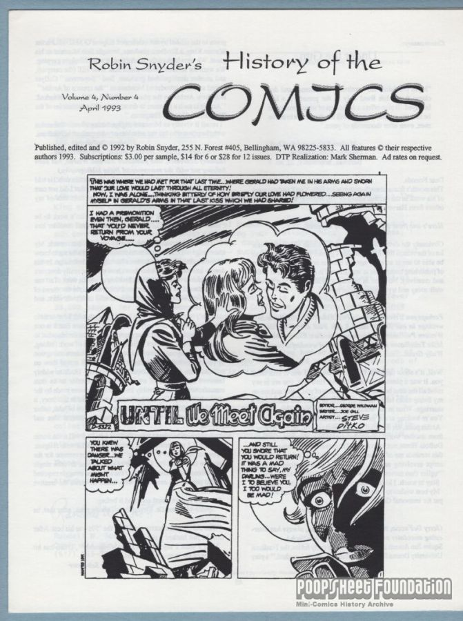 History of the Comics Vol. 4, #4