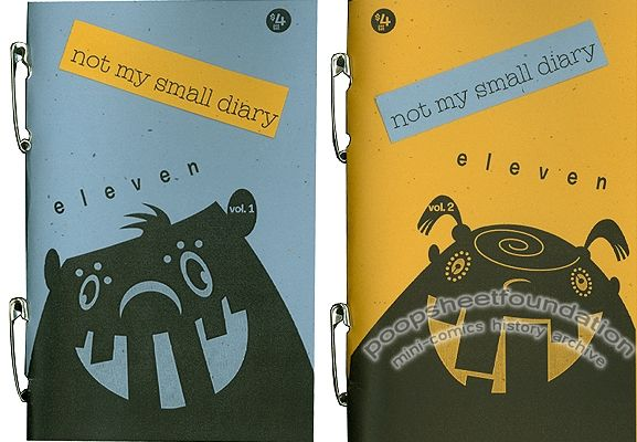 Not My Small Diary #11 (Volumes 1 & 2)