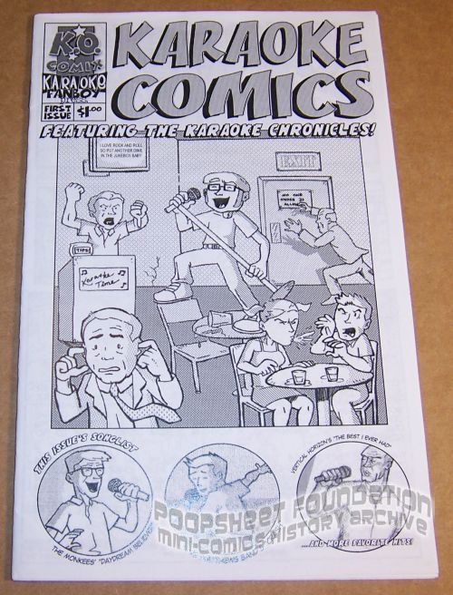 Karaoke Comics #1