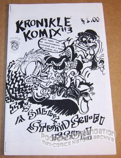 Kronikle Komix #3