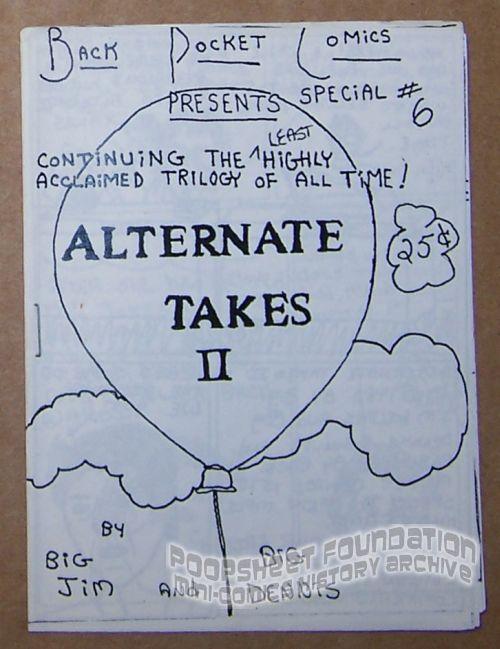 Back Pocket Comics Special #6