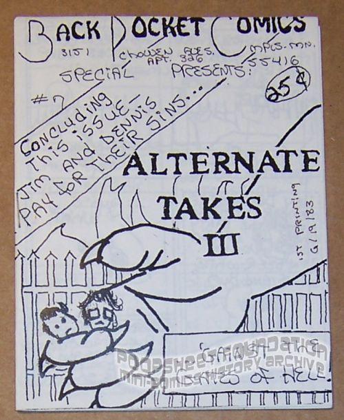 Back Pocket Comics Special #7