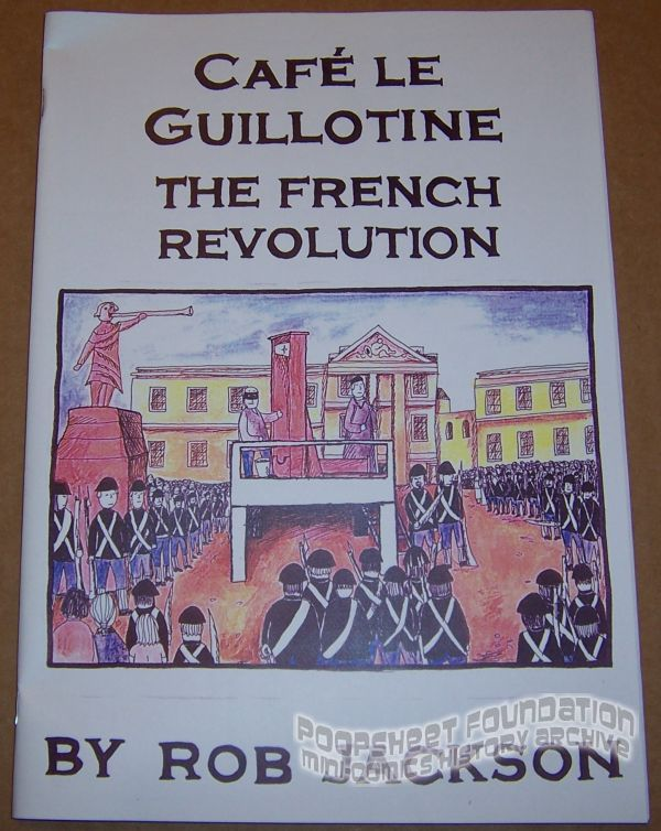 Cafe le Guillotine: The French Revolution