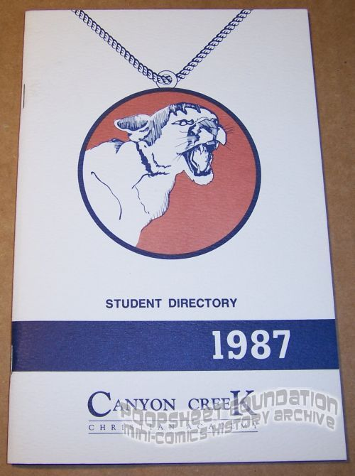 Canyon Creek Christian Academy Student Directory