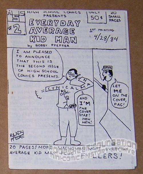 Everyday Average Kid Man #2