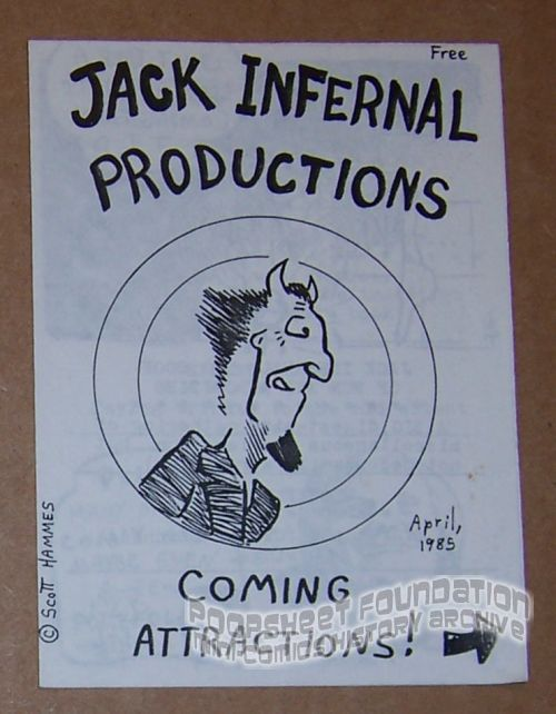 Jack Infernal Productions: Coming Attractions