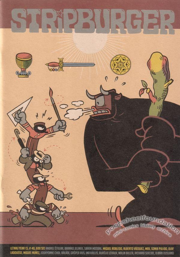 Stripburger #40