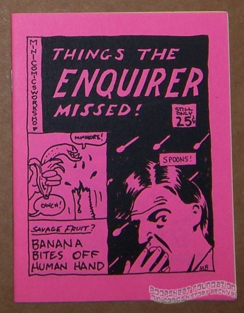 Things the Enquirer Missed!