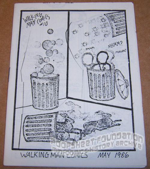 Walking Man Comics #10