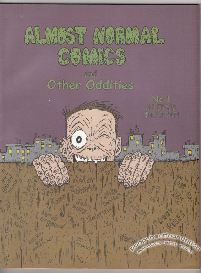 Almost Normal Comics and Other Oddities #1