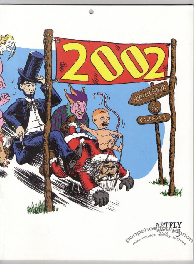 Artfly #3: 2002 Comic Book & Calendar