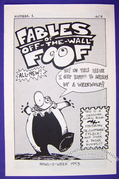 Fables of Off-the-Wall Foof #1
