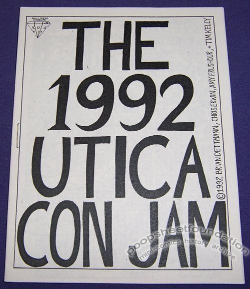 1992 Utica Con Jam, The