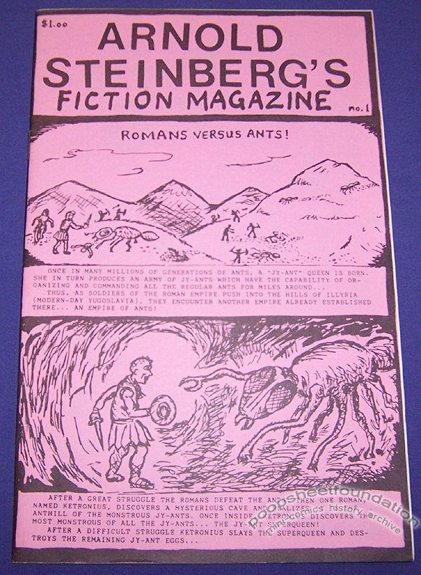 Arnold Steinberg's Fiction Magazine #1