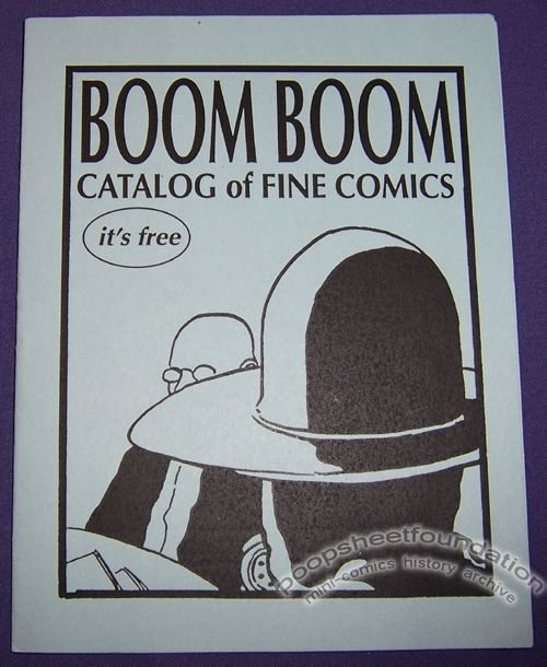 Boom Boom Catalog of Fine Comics