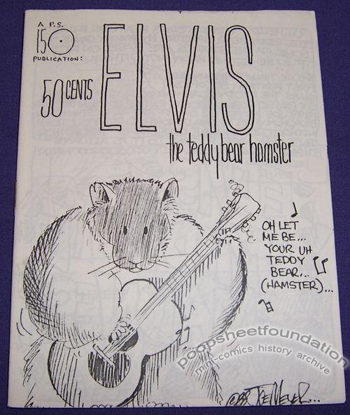 Elvis the Teddy Bear Hamster