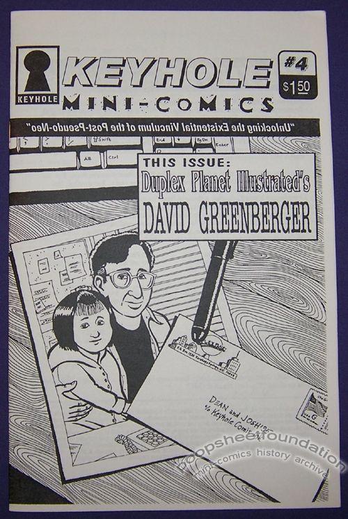Keyhole Mini-Comics #4