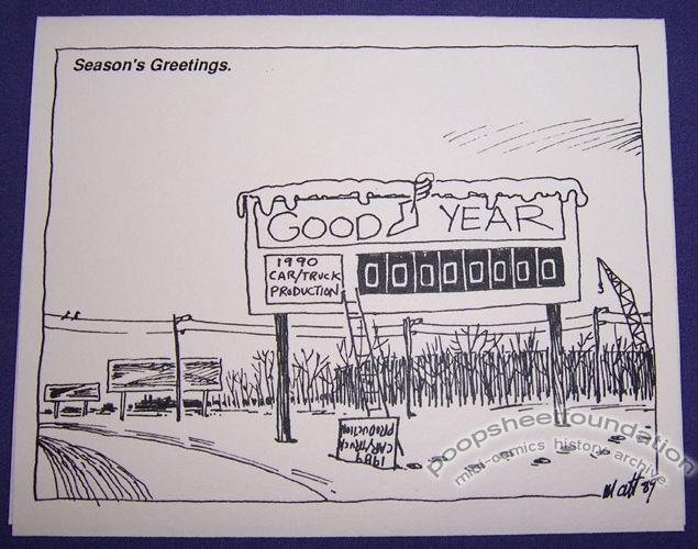 Matt Feazell Christmas card