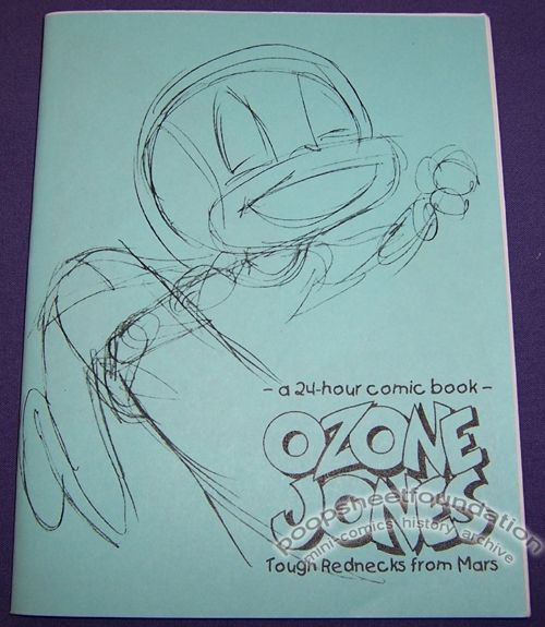 Ozone Jones: Tough Rednecks from Mars
