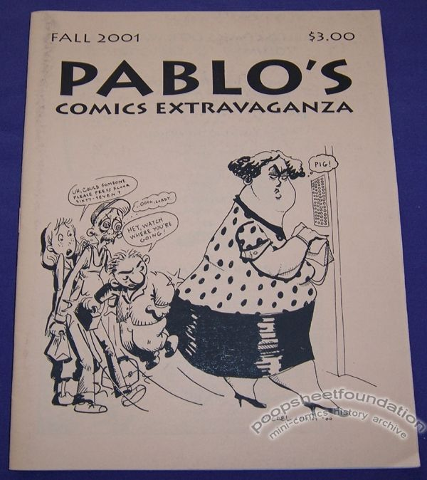 Pablo's Comics Extravaganza