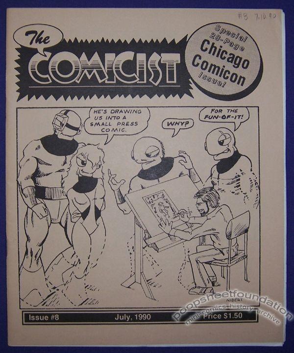 Comicist, The #08