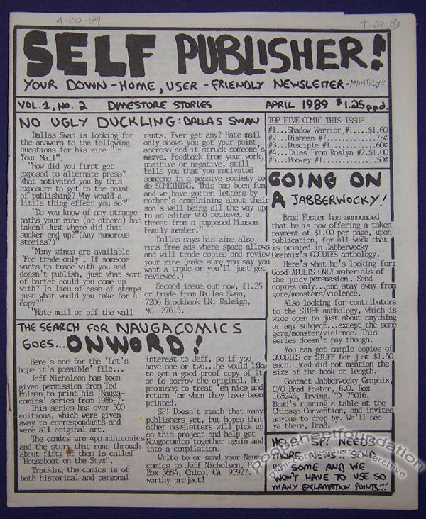 Self Publisher #02