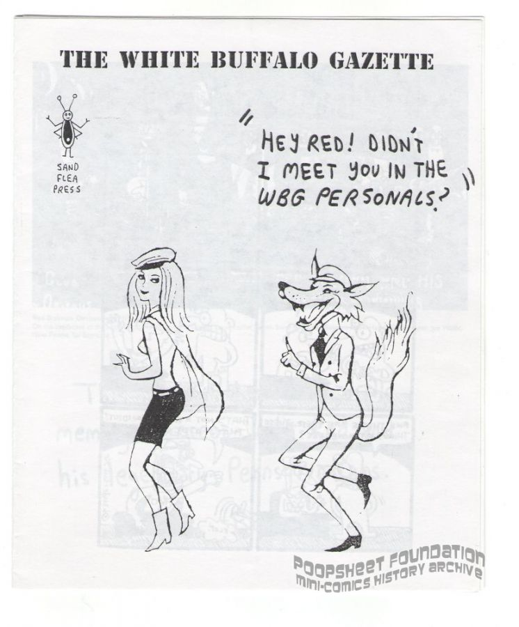 White Buffalo Gazette Vol. Five Little Peppers and How They Grew, #Posing as a Sodomite (1996)