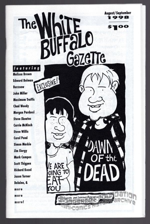 White Buffalo Gazette (August/September 1998)