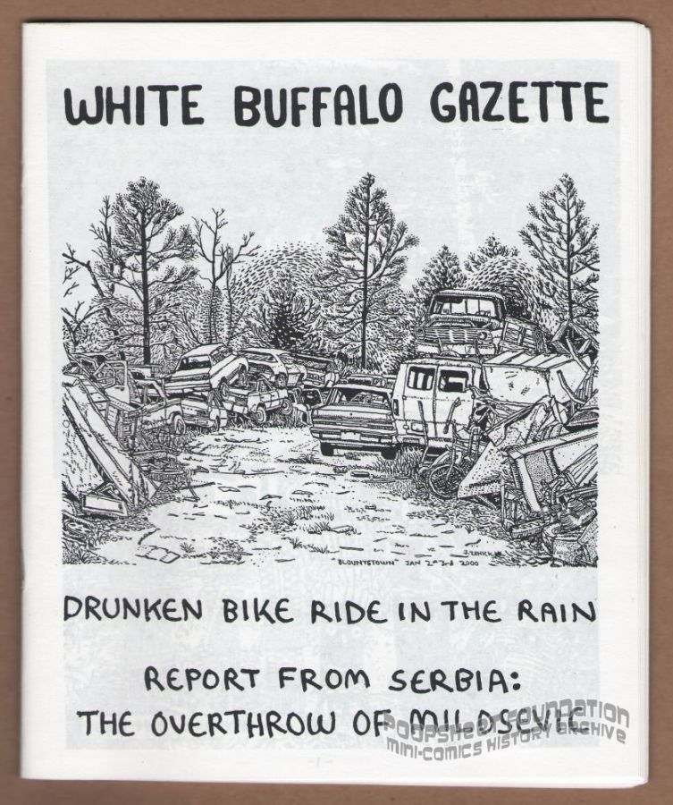 White Buffalo Gazette (January 2001)