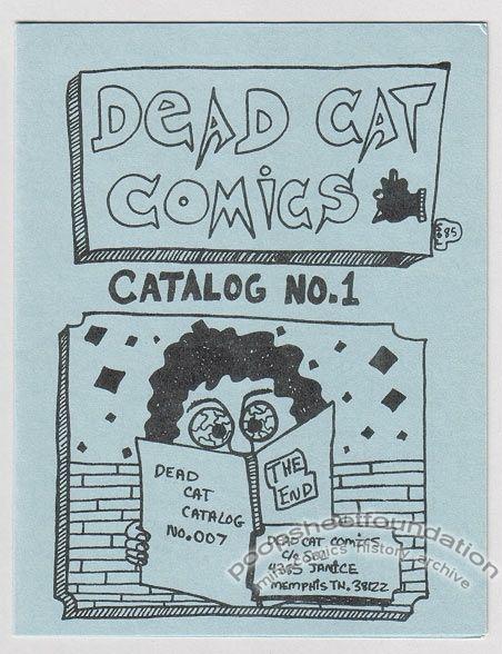 Dead Cat Comics Catalog #1