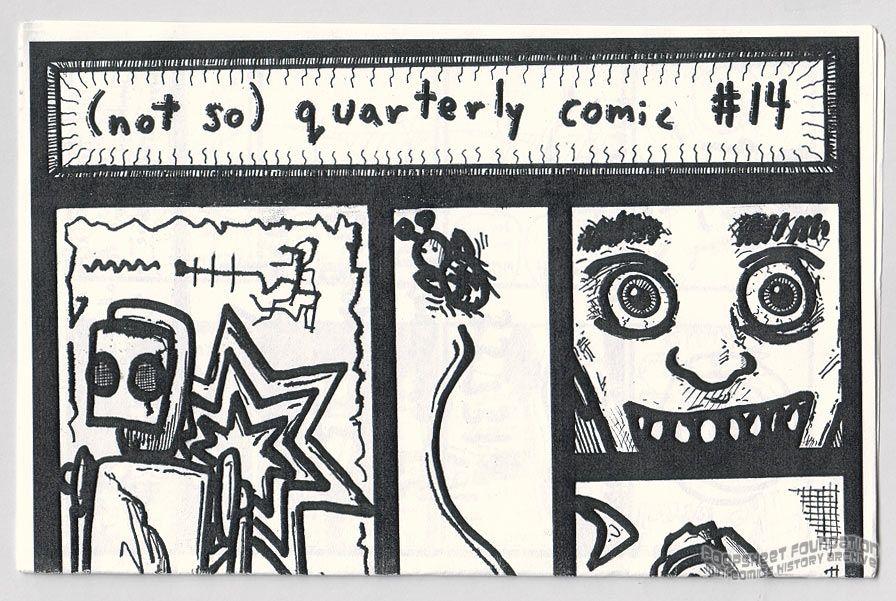 Josh Sullivan's Mini-Comics #14