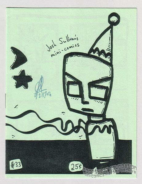 Josh Sullivan's Mini-Comics #33