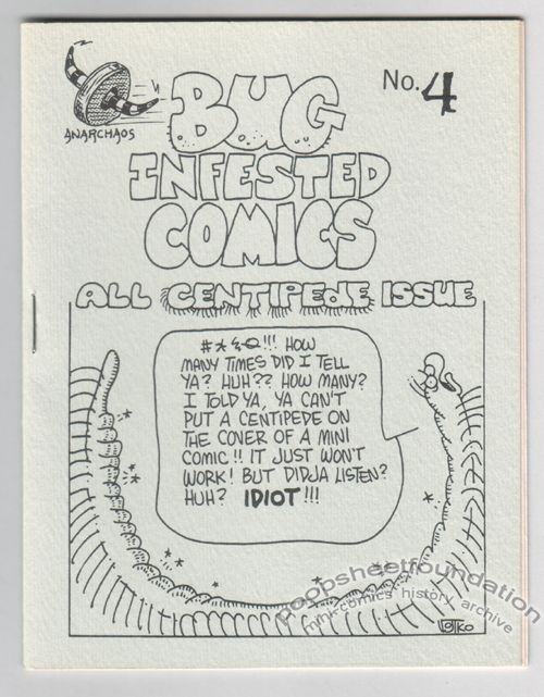 Bug Infested Comics #4