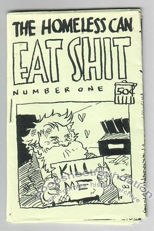 Homeless Can Eat Shit, The #1
