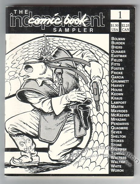 Independent Comic Book Sampler, The #1