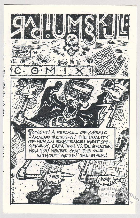 Radium Skull Comix #3