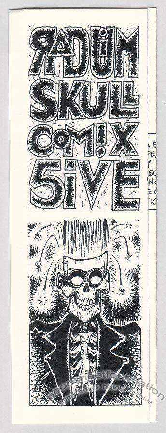 Radium Skull Comix #5