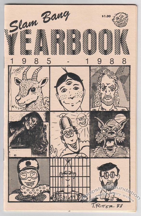 Slam Bang Yearbook 1985-1988