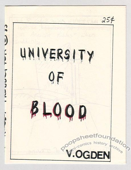 University Of Blood
