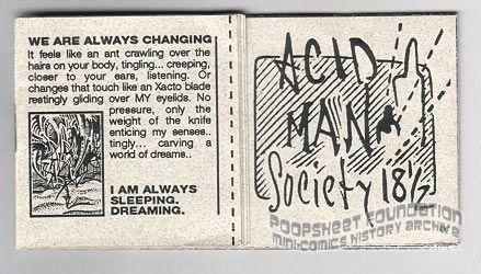 Acid Man Society #18½